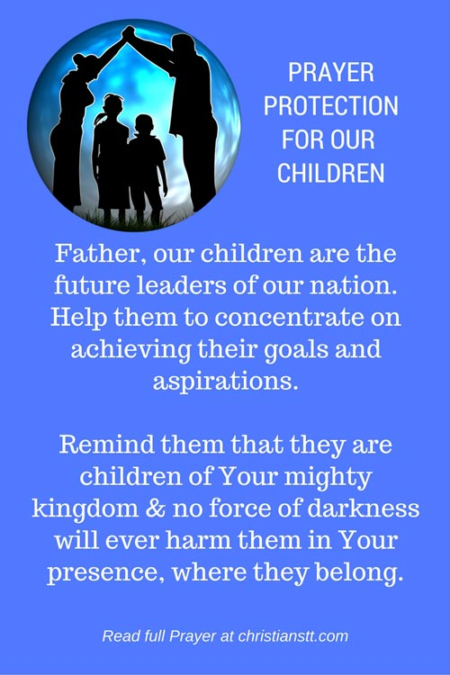 Protection for our Children pin