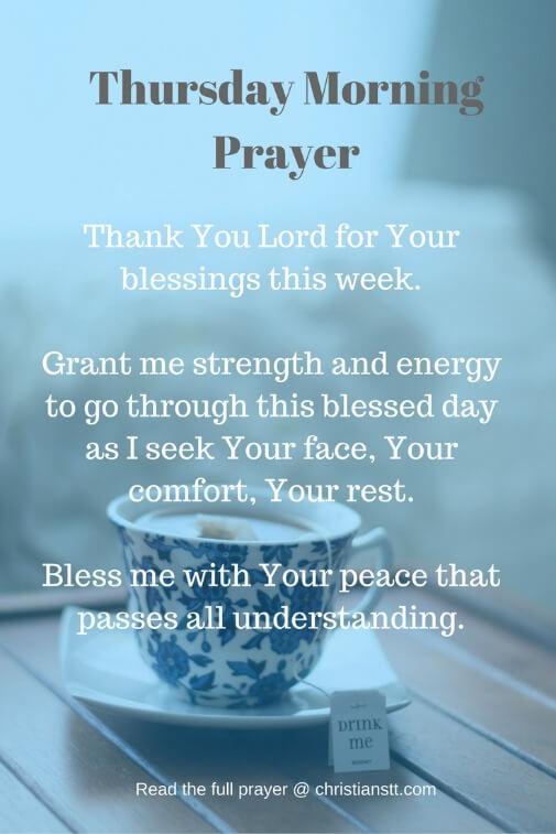 Thursday Morning Prayer -pin
