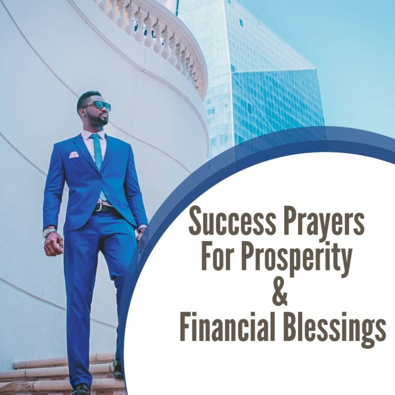 Prayers for Prosperity and Financial Blessings