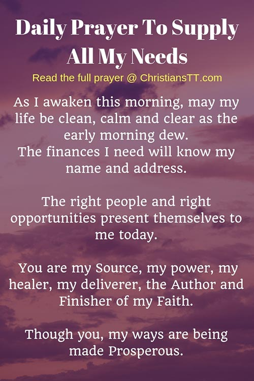 Prayer-Supply-all-my-needs