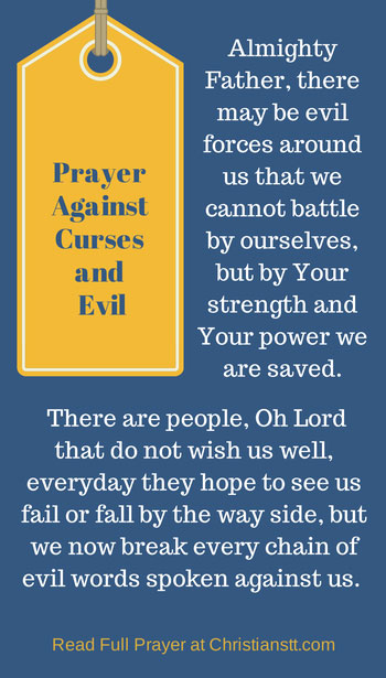 Powerful Prayer for Breaking Curses and Against Evil - ChristiansTT