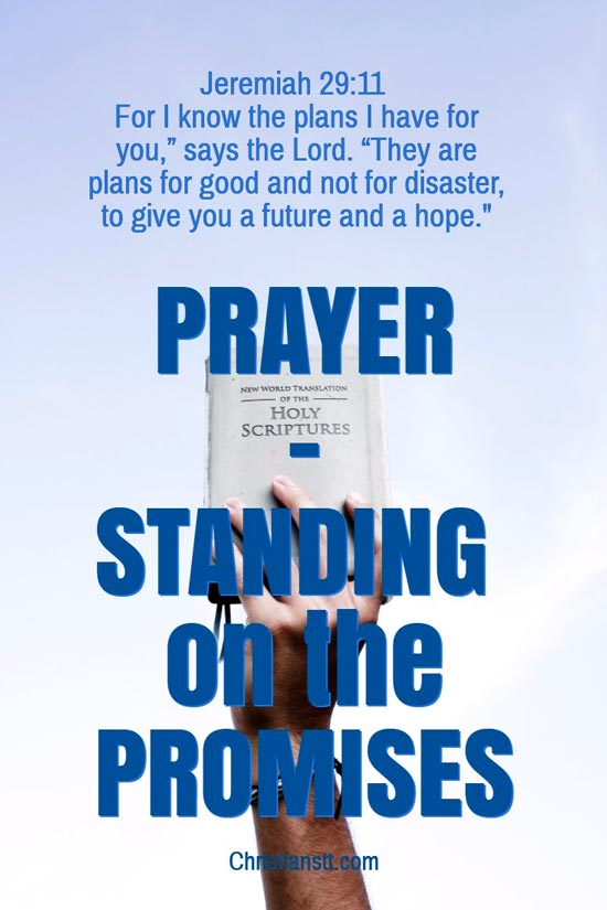Prayer - Standing on the Promises of God