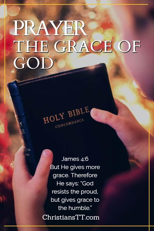 Prayer the grace of God