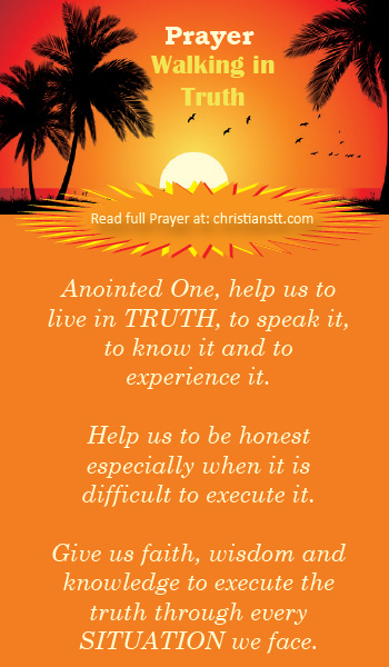 Prayer: Walking in Truth