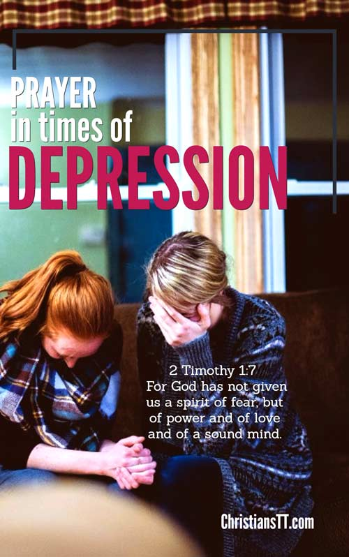 Prayer: In Times of Depression