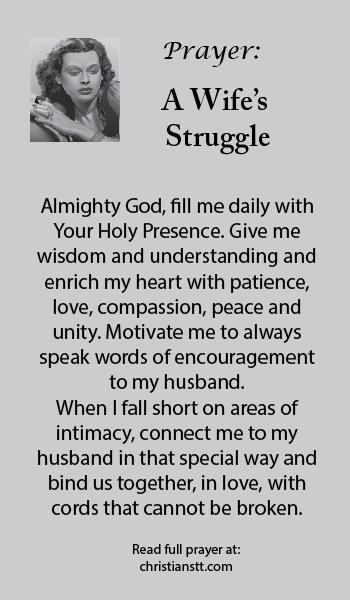 Catholic prayer for troubled marriage