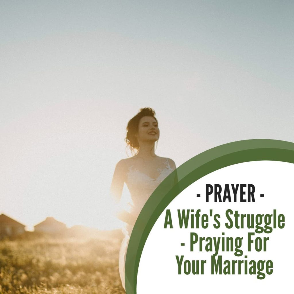 Prayer:A Wife's Struggle – Praying for your Marriage