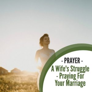 Prayer: A Wife's Struggle – Praying for your Marriage