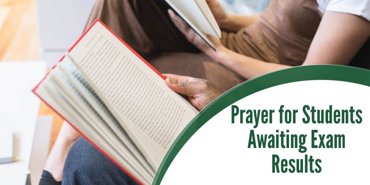 Prayer for Students Awaiting Exam Results