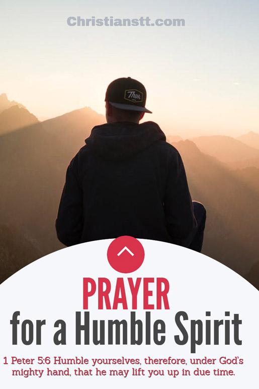 Prayer for a Humble Spirit