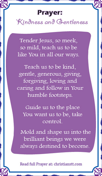 Prayer: Kindness & Gentleness