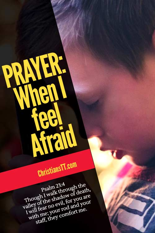 Prayer: When I feel Afraid