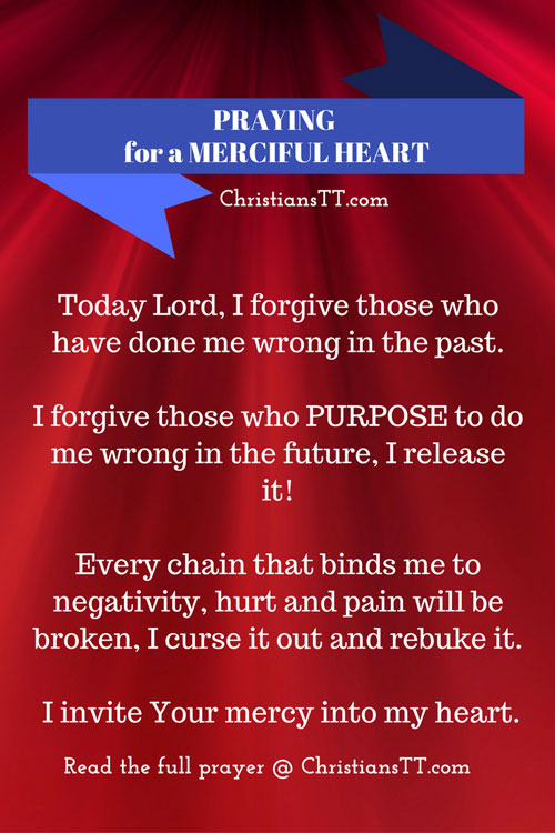 Prayer for a Merciful Heart - ChristiansTT