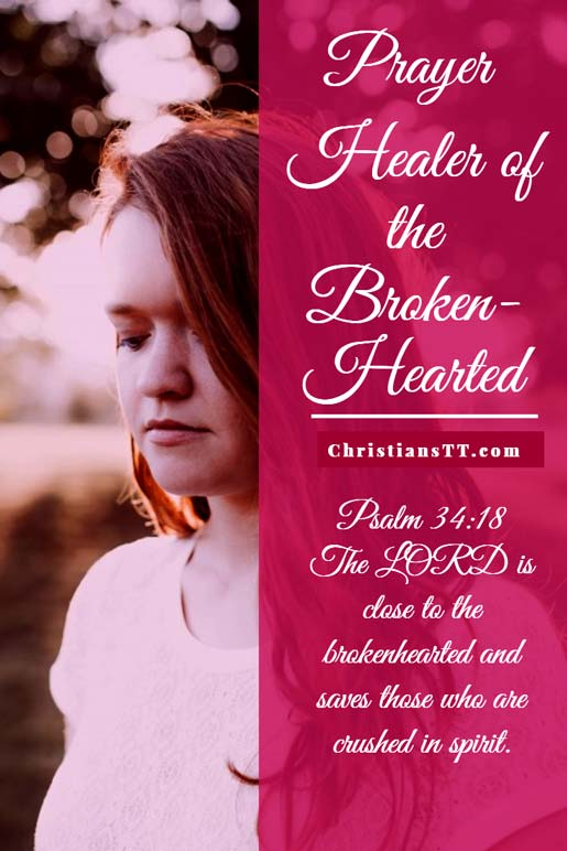 Prayer – Healer Of The Broken-Hearted