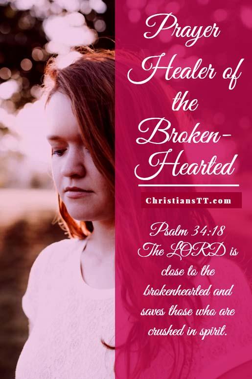 Prayer - Healer of the Broken-Hearted