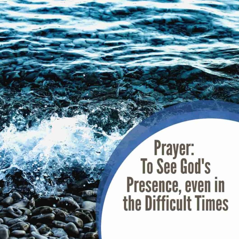 Prayer For Overcoming Difficult Times and Situations