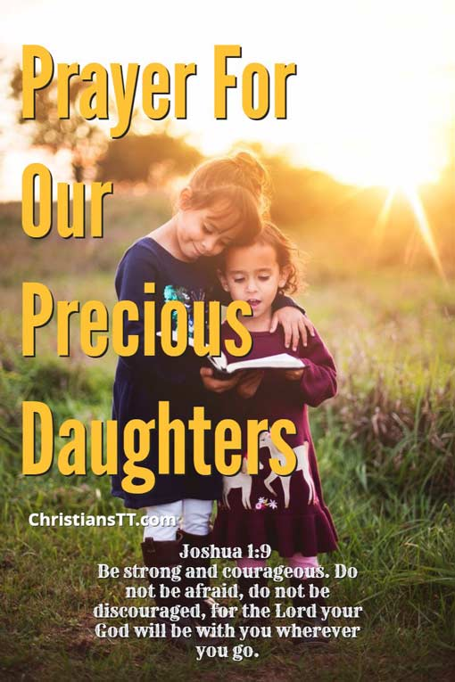 Prayer For Our Precious Daughters and Granddaughters