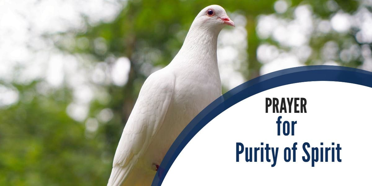 Prayer for Purity of Spirit