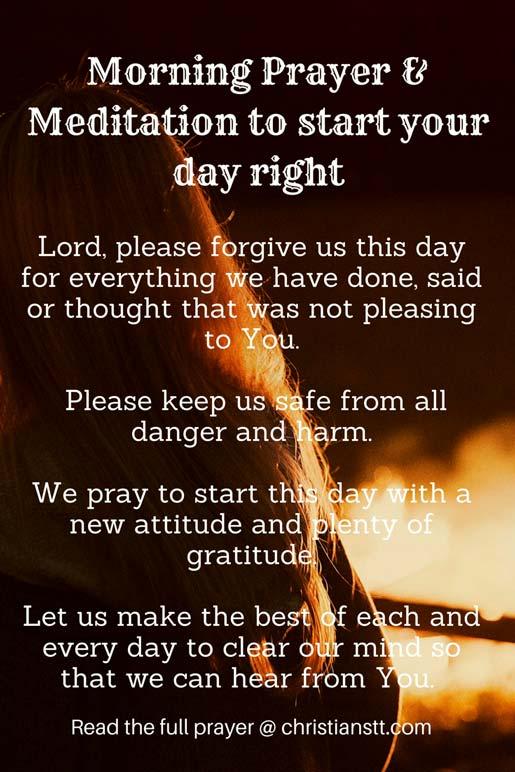 Morning Prayer for Faith and God's Blessings - ChristiansTT