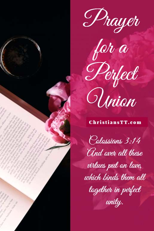 Prayer for a Perfect Union