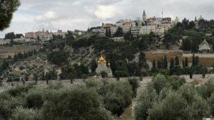 Departing from Jerusalem