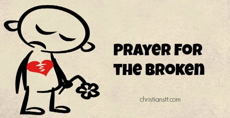 Prayer for the Broken