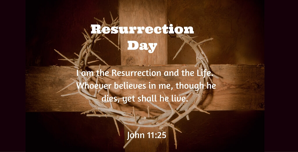 Prayer for Resurrection day