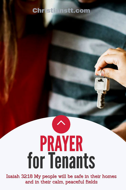 A Prayer for Tenants