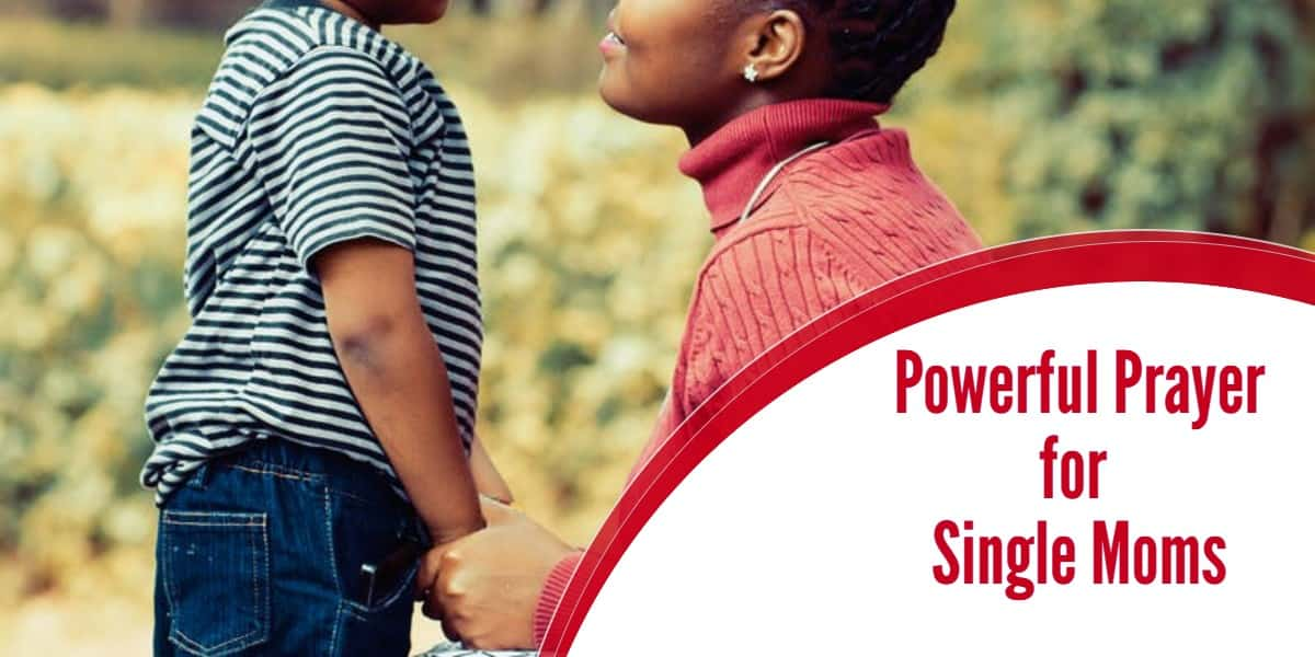 Powerful Prayer for Single Moms