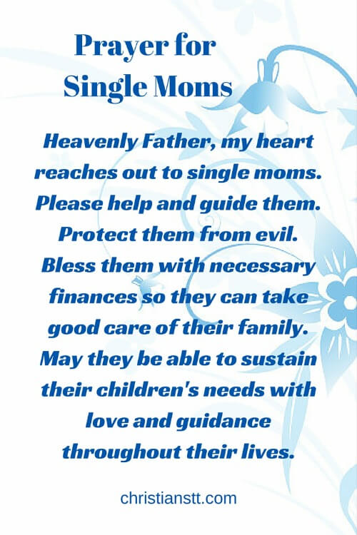 Prayer for Single Moms