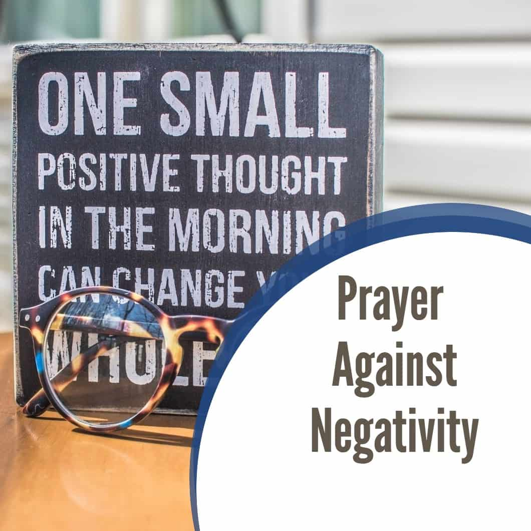 Prayer Against Negativity