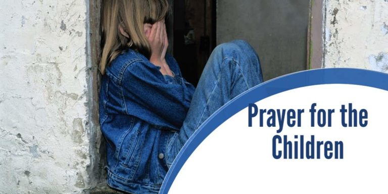 Powerful Prayer of Protection for the Children