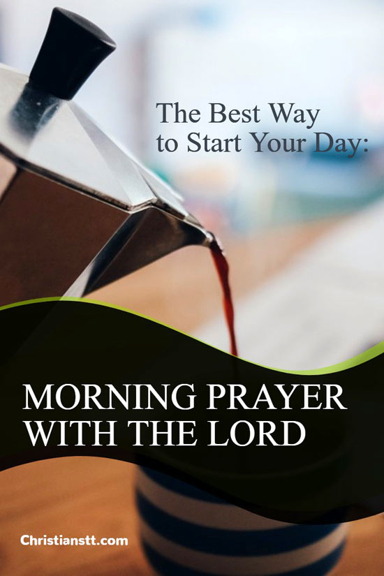 Morning Prayer With the Lord