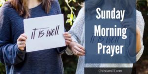 Sunday Morning Prayer
