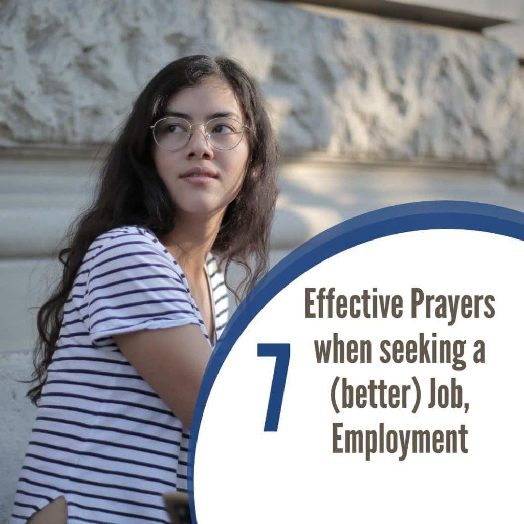 7 Effective Prayers when seeking a (better) job, employment