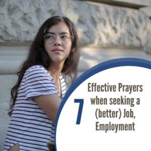 7 Effective Prayers for a (better) job, employment