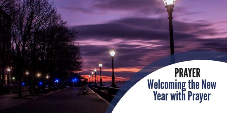 Prayers to Welcome in the New Year 2021!