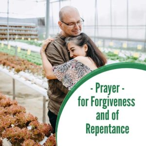 Prayer for Forgiveness and of Repentance