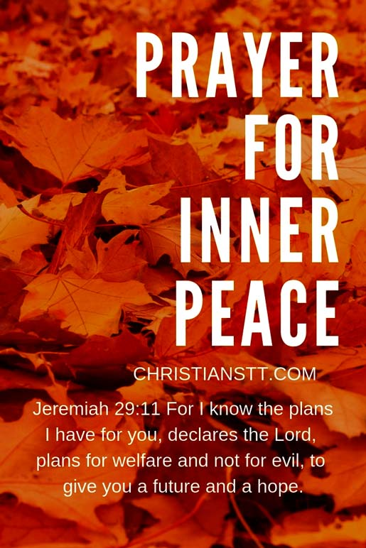 Prayer for Inner Peace
