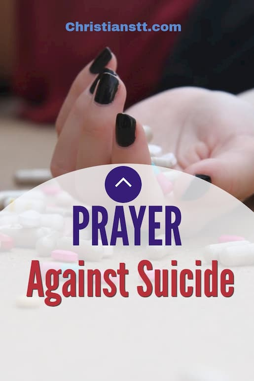 Prayer Against Suicide