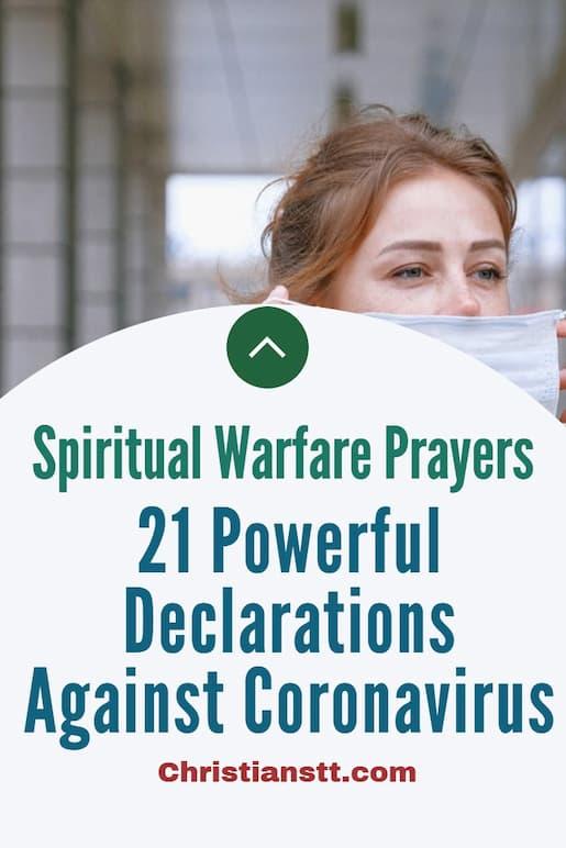 21 Powerful Declarations Against Coronavirus