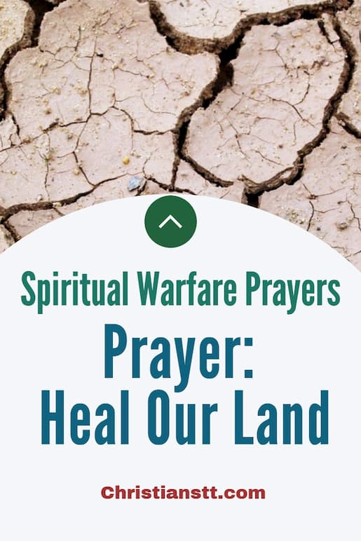 Prayer: Heal Our Land