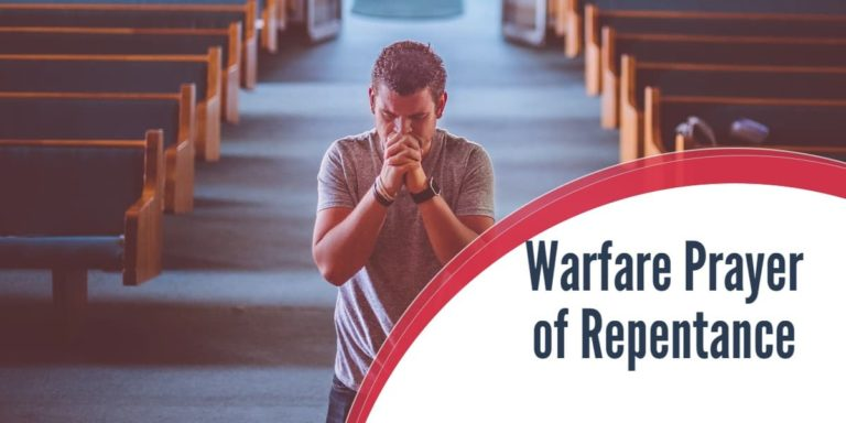 Warfare Prayer of Repentance