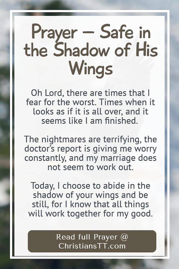 Prayer – Safe in the Shadow of His Wings
