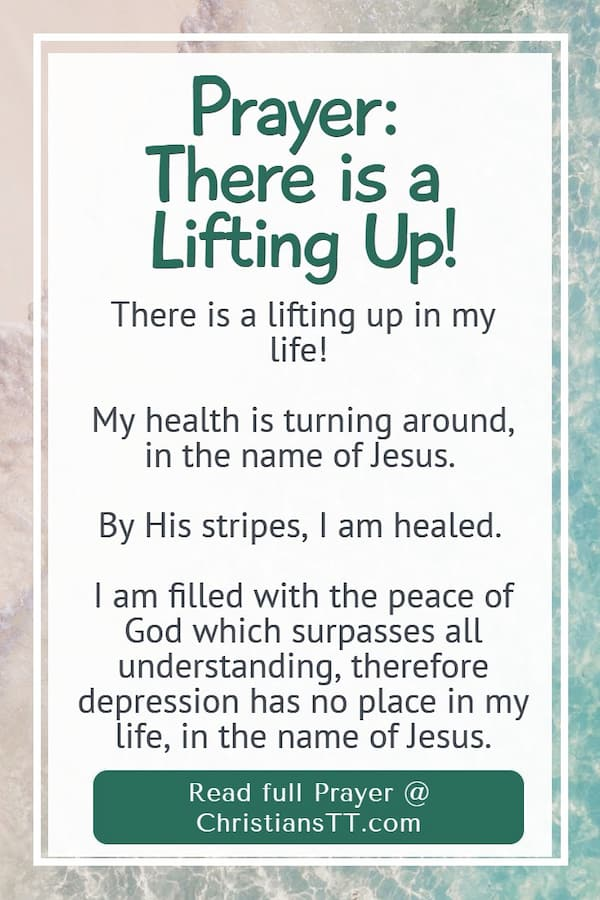 Prayer – There is a lifting up!